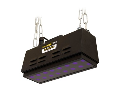 UV-A LED flood lamps