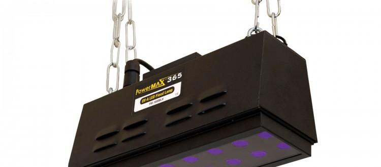 UV-A LED flood lamps